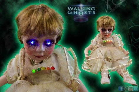 Haunted Doll EMF Electrostatic Trigger Object Paranormal Ghost Hunt Tool, Mary